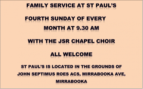 Family Service at St Paul's
